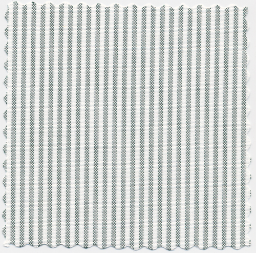 47498ae8d5d9e ... Green and White Stripe University Two-Ply 100% Pima Cotton Oxford